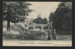 51 CHALONS SUR MARNE - Pont Des Mariniers - Châlons-sur-Marne