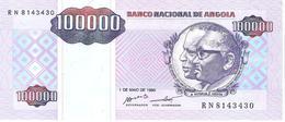 Angola - Pick 139 - 100.000 (100000) Kwanzas Reajustados 1995 - Unc - Angola