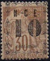 NOUVELLE-CALEDONIE - 10 C. Sur 30 C. Neuf TB - Nouvelle-Calédonie