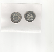 Pièce Argent 50 Francs 1977 - France