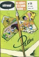 Schtroumpf Les Cahiers De La Bande Dessinee  31 Pellos Tbe - Autre Magazines