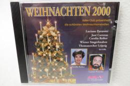 """CD """"Weihnachten 2000"""" Adler Club Präsentiert Die Schönsten Weihnachtsmelodien - Weihnachtslieder"""