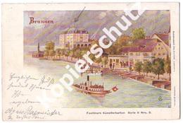 Brunnen 1900  (z3634) - SZ Schwyz