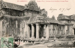 CAMBODGE - Angkor Wat -  Intérieur De La Deuxième Terrasse Ouest - Cambodge