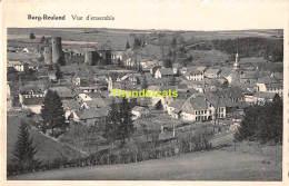 CPA  BURG REULAND VUE D'ENSEMBLE - Burg-Reuland
