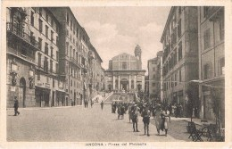ANCONA - PIAZZA DEL PLEBISCITO - 1935 - Ancona