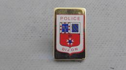 Pin´s Police ;dijon - Police