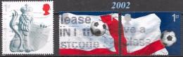 GB  - Football, Coupe Du Monde 2002 - Oblitérés - Lot 408 - Usados