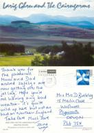 Larig Ghru, Grantown-on-Spey, Moray, Scotland Postcard Posted 2002 Stamp - Moray