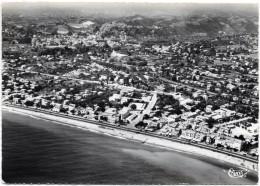 D06 . CPSM Gf 1954 . CAGNES  . Vue Panoramique Aerenne . Dans Le Fond  LE Vieux Cagnes . - Cagnes-sur-Mer