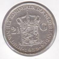 MONEDA DE PLATA DE HOLANDA DE 2,50 GULDEN DEL AÑO 1939  (COIN) SILVER-ARGENT - [ 8] Monedas En Oro Y Plata