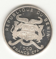 1000 Francs CFA Bénin 1996 - Belle épreuve / Proof  - Argent / Silver - Benin