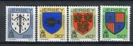 Jersey 1982. Yvert 267-70 ** MNH. - Jersey