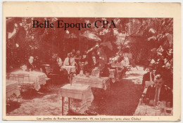 75 - PARIS 17 - 15, Rue Lemercier - Les Jardins Du Restaurant MARTIANITCH +++++++1933 ++++ - District 17
