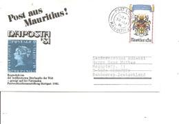 Maurice ( Lettre De 1981 De Port-Louis Vers L'Allemagne à Voir) - Mauritius (1968-...)