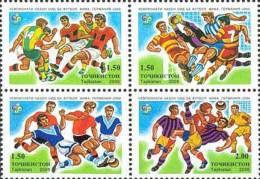 Tadschikistan 2006 MNH** Mi.Nr. 422-425 Football World Championship Germany 2006 M