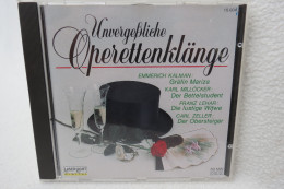 "CD ""Unvergeßliche Operettenklänge"" - Opere"