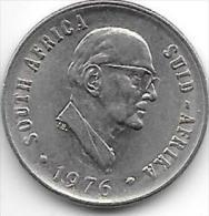 South Africa 10 Cents1976   Km 94  Unc - Afrique Du Sud