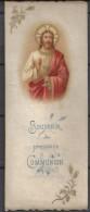 24 Mai 1903  Image Religieuse . Souvenir De La 1ére Communion  . Chapelle Des Dames De Nevers à Cahors - Devotion Images