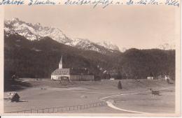 AK Schloss Elmau - Post Klais - 1929 (25202) - Garmisch-Partenkirchen