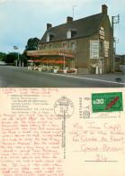 Hotel Restaurant Le Sillon De Bretagne, Bree Par Pontorson, Manche, France Postcard Posted 1972 Stamp - Other Municipalities