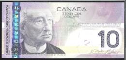 Canada 10 Dollar 2005(2008) P102Ad  Sign.Jenkins&Carney UNC - Kanada