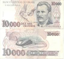 VITAL BRAZIL - BILHETE BANK NOTE BILLETE 10.000 10000 CRUZEIROS MEDICO CIENTISTA IMUNOLOGISTA PESQUISADOR BIOMEDICO BRAS - Brazil