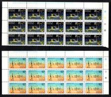 "Nauru   1973    ""Definitives X 4 - Panes Of 15""     MNH   (**)) - Nauru"