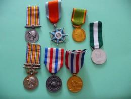 Lot De 7 Médailles Françaises - Frankreich