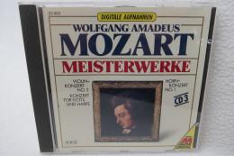 """CD """"Wolfgang Amadeus Mozart"""" Meisterwerke CD 3 - Klassik"""