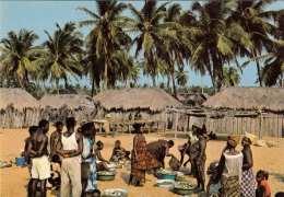 VILLAGE DE PÈCHEURS (Dahomey) - Dahomey