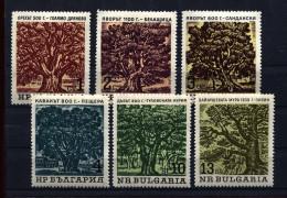 Bulgaria, 1964, Bäume,  Fauna, - Bulgaria