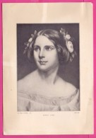 PIC00052 Perry Picture Of Singer Jenny Lind - Old Paper