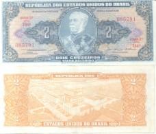 DUQUE DE CAXIAS 2 CRUZEIROS VALOR RECEBIDO- BRASIL BRESIL BRAZIL BILLETE BILHETE BANK NOTE - Brazil