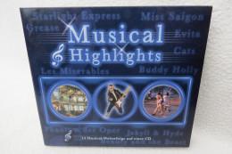 """CD """"Musical Highlights"""" 14 Musical-Welterfolge Auf Einer CD - Musicals"""