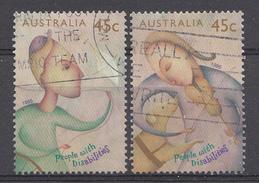 Australie 1995  Mi.nr: 1488-1489 Gesellschaft Für Blindenhilfe  OBLITERE / USED / GEBRUIKT