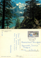 Oeschinensee, BE Bern, Switzerland Postcard Posted 1988 Stamp - BE Berne