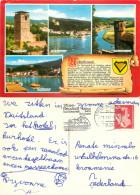 Neckarsteinach, Germany Postcard Posted 1987 Stamp - Sonstige