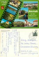 Neustadt An Der Waldnaab, Germany Postcard Posted 1989 Stamp - Neustadt Waldnaab