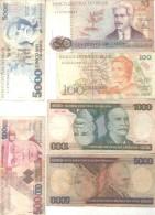 BRASIL BRAZIL BRESIL 6 BILHETES BILLETES BANK NOTES DIFFERENT DIFERENTES DIFFERENTES - Brazil