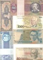BRASIL BRAZIL BRESIL 19 BILHETES BILLETES BANK NOTES DIFFERENT DIFERENTES DIFFERENTES - Brazil
