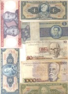 BRASIL BRAZIL BRESIL 7 BILHETES BILLETES BANK NOTES DIFFERENT DIFERENTES DIFFERENTES - Brazil