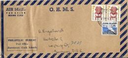 G 278 - Enveloppe Envoyée De Raratonga / Cook Islands En Allemagne 1967 - Cookeilanden