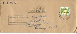G 279 - Enveloppe Envoyée De Raratonga / Cook Islands En Allemagne 1966 - Cookeilanden