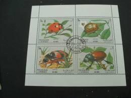 BG79-  Bloc   Used Sharjah Beetles - Non Classés
