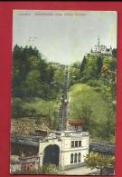 HBP-21  Luzern Gütschbahn Vom Hôtel Gütsch. Gelaufen In 1910 - LU Lucerne