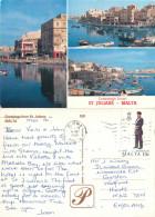 St Julians, Malta Postcard Posted 1989 Stamp - Malte