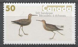 Canada 2005. Scott #2097  (MNH) Bird Paintings By John James Audubon. Stilt Sandpiper - 1952-.... Règne D'Elizabeth II
