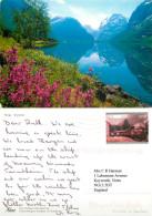 Strynsvatn, Norway Postcard Posted 2004 Stamp - Norvegia
