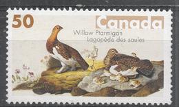 Canada 2005. Scott #2098 (MNH) Bird Paintings By John James Audubon. Willow Ptarmigan - Neufs